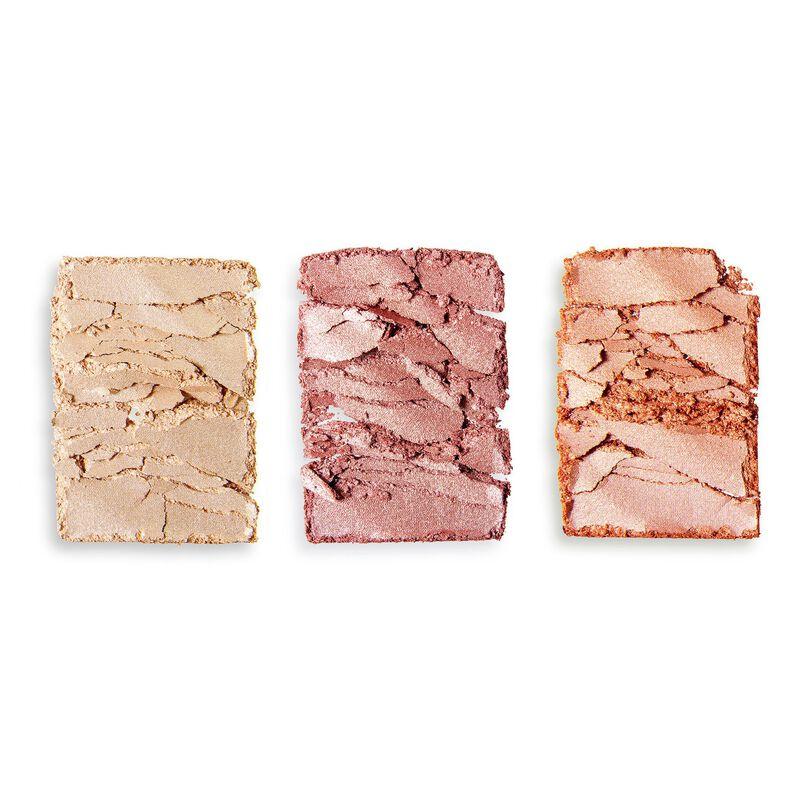 Makeup Revolution Precious Stone Highlighter Palette Roze Quartz