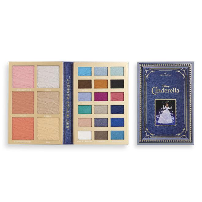 I Heart Revolution Disney Fairytale Books Palette Cinderella