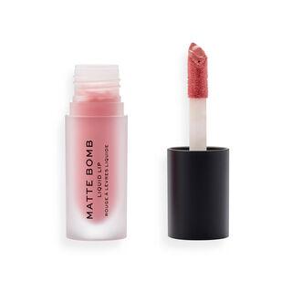 Makeup Revolution Matte Bomb Liquid Lipstick Pink Bunny