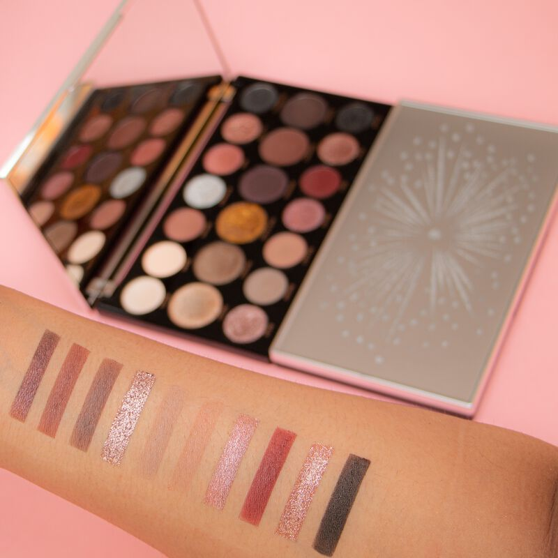 Makeup Revolution Precious Glamour MegaStar Eyeshadow Palette Crystal Luxe