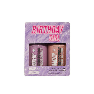 Makeup Obsession Birthday Girl Nail Duo Gift Set