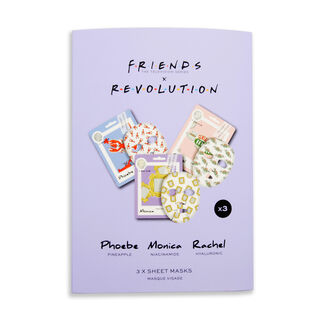 Makeup Revolution X Friends Female Sheet Mask Set
