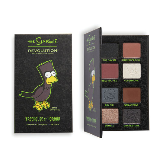 "The Simpsons Makeup Revolution Mini Eyeshadow Palette ""The Raven Bart"""