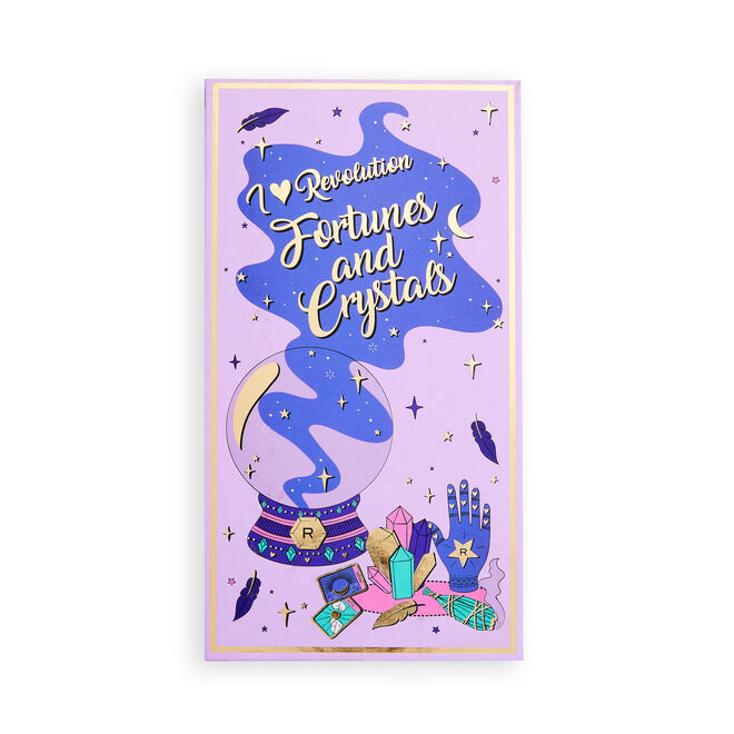 I Heart Revolution Book of Spells Eyeshadow Palette Fortunes and Crystals