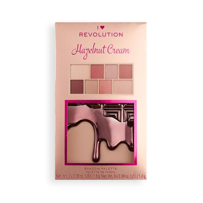 I Heart Revolution Hazelnut Cream Mini Chocolate Eyeshadow Palette