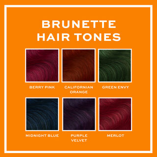 Revolution Hair Tones for Brunettes