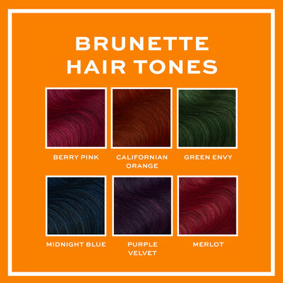 Revolution Hair Tones for Brunettes Berry Pink