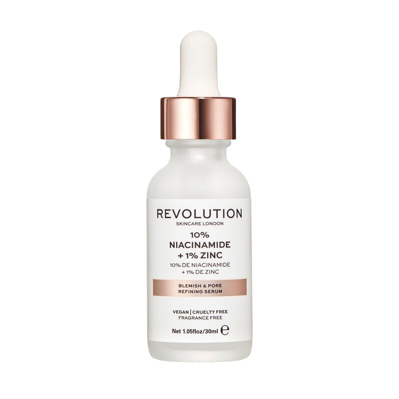 Revolution Skincare Blemish and Pore Refining Serum - 10% Niacinamide + 1% Zinc 30ml
