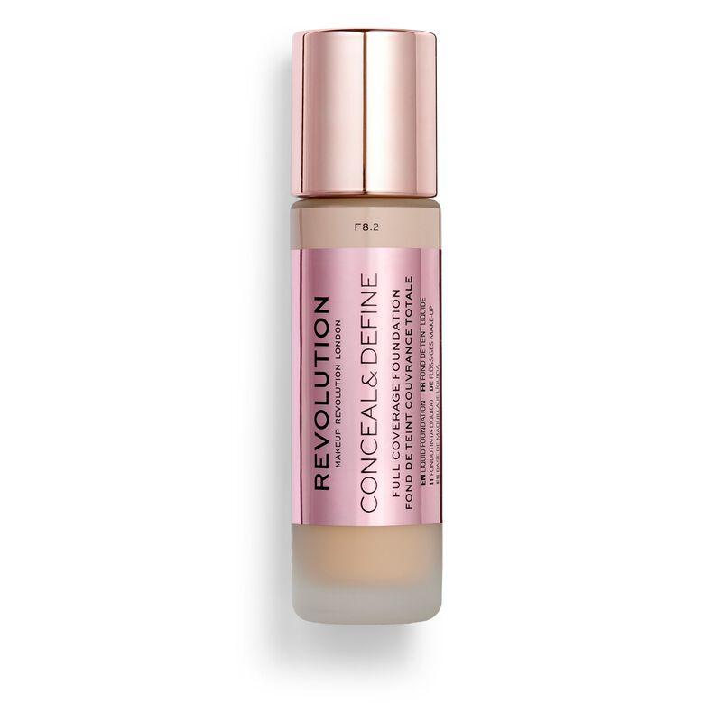 Makeup Revolution Conceal & Define Foundation F8.2