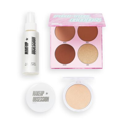 Makeup Obsession Glow For The Gods Highlighter Gift Set