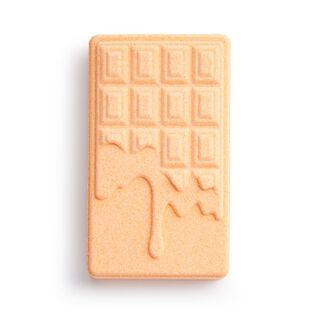 Chocolate Bar Bath Fizzer Orange
