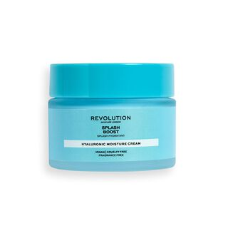Revolution Skincare Splash Boost Moisture Cream with Hyaluronic Acid