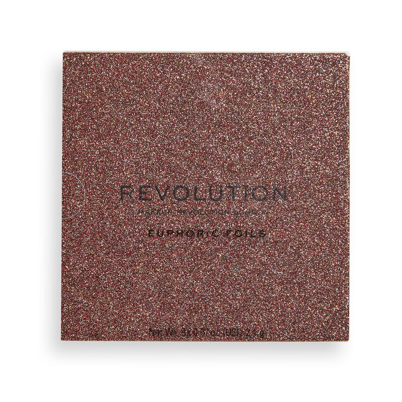 Makeup Revolution Euphoric Foil Eyeshadow Palette House of Fun