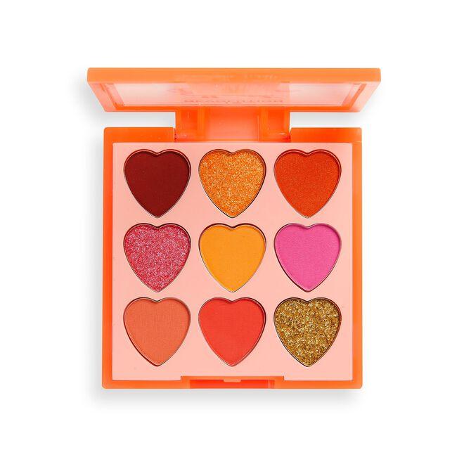 I Heart Revolution Heartbreakers Eyeshadow Palette Fiery