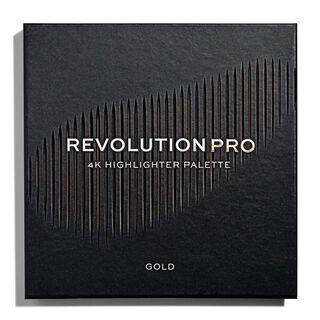 4K Highlighter Palette - Gold