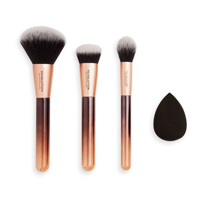 Makeup Revolution Conceal & Define Infinite Face Brush set