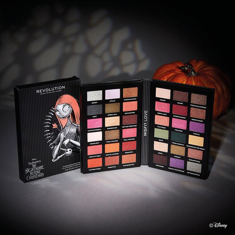 Makeup Revolution Disney Nightmare Before Christmas Eyeshadow Palette Sally