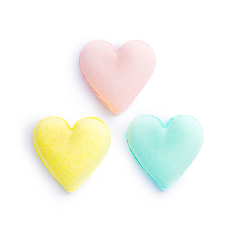 Pastel Heart Fizzer Kit