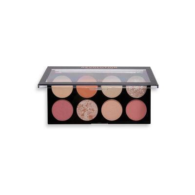 Makeup Revolution Ultra Blush Palette Golden Desire