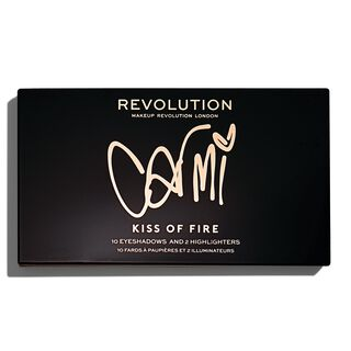 x Carmi Kiss Of Fire Palette
