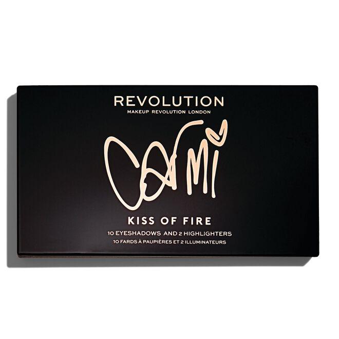 x Carmi Kiss Of Fire Palette