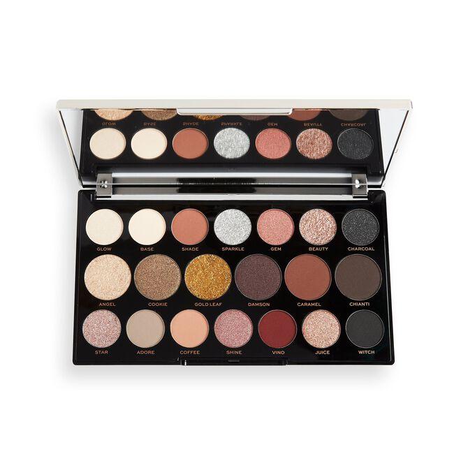 Makeup Revolution Precious Glamour MegaStar Eyeshadow Palette Crystal Luxe