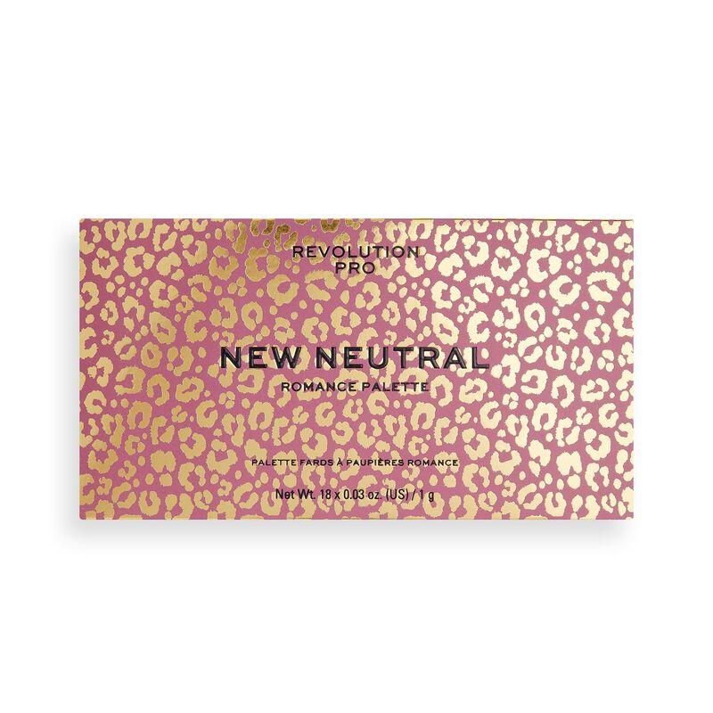 Revolution Pro New Neutral Eyeshadow Palette Romance
