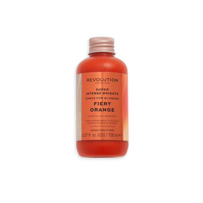 Revolution Haircare Super Intense Brights Tones for Blondes Fiery Orange