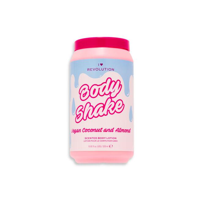 I Heart Revolution Tasty Shower Shake Vegan Coconut & Almond Shower Gel