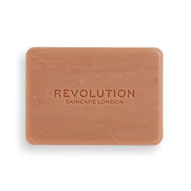 Revolution Skincare Pink Clay Balancing Facial Cleansing Bar
