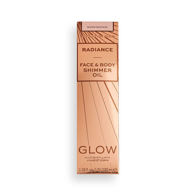 Makeup Revolution Glow Radiance Shimmer Oil Warm Bronze