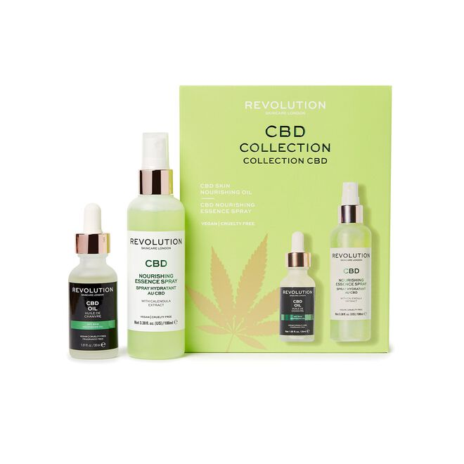Revolution Skincare CBD Oil & Spritz Set