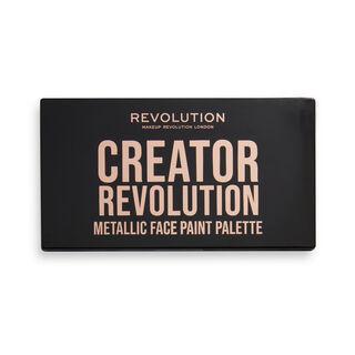 Creator Revolution SFX Metallic Face Paint Palette