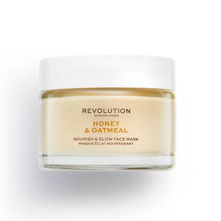 Revolution Skincare Honey & Oatmeal Nourish & Glow Face Mask
