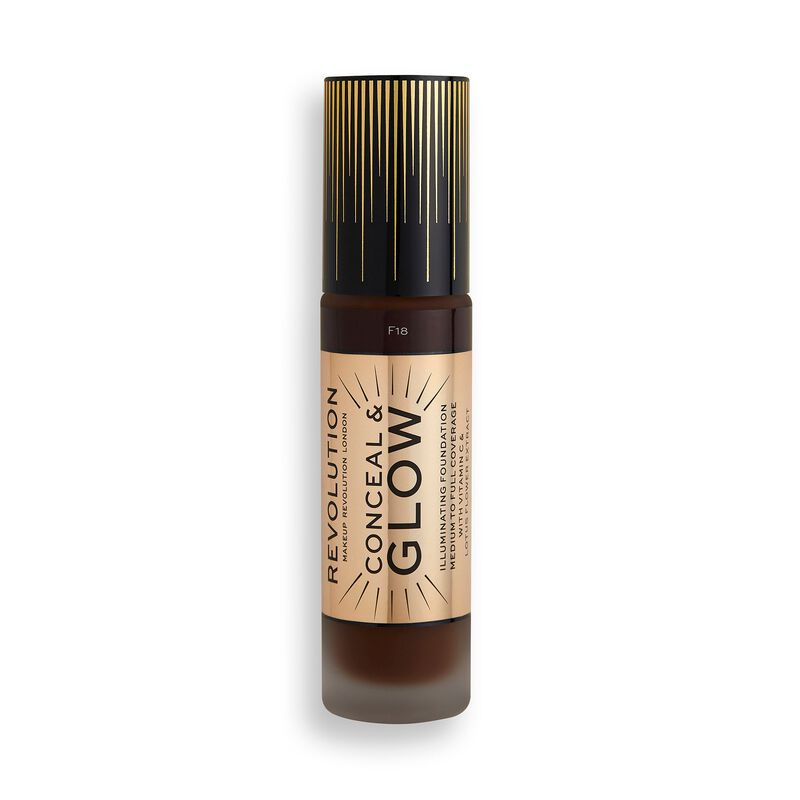 Makeup Revolution Conceal & Glow Foundation F18 (23ml)