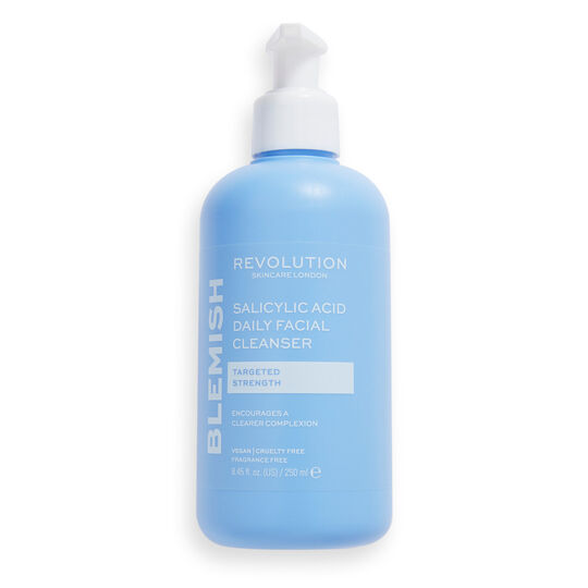 Revolution Skincare Blemish Targeting Facial Gel Cleanser with Salicylic Acid