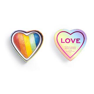 X Pride I Heart Love