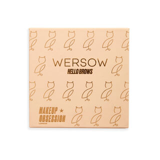 Makeup Obsession x Wersow Hello Brows Brow Kit