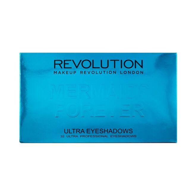 Makeup Revolution Ultra 32 Shade Mermaids Forever Eyeshadow Palette
