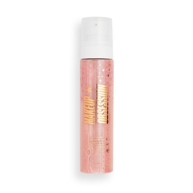 Makeup Obsession Shimmer Glow Body Oil Shy Blush