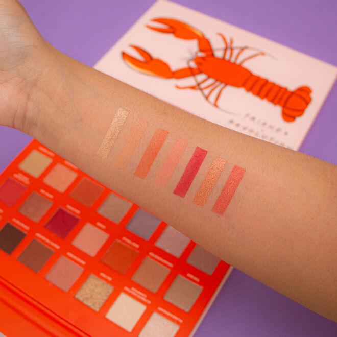 Friends X Makeup Revolution He's Her Lobster Eyeshadow Palette