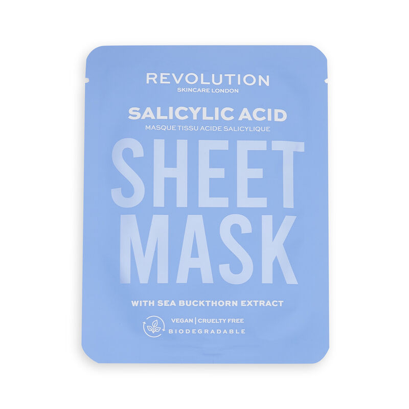 Revolution Skincare Biodegradable Blemish Prone Skin Sheet Mask 3 Pack