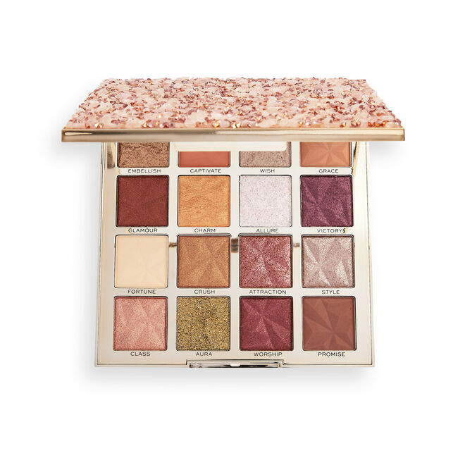 Revolution Pro Ultimate Crystal Eyeshadow Palette Adorned