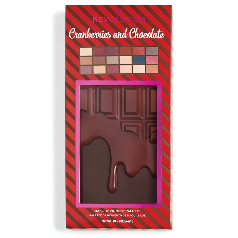 Cranberries & Chocolate Palette
