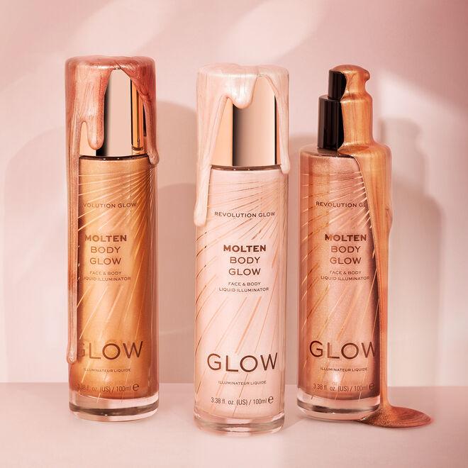 Makeup Revolution Glow Molten Body Liquid Illuminator