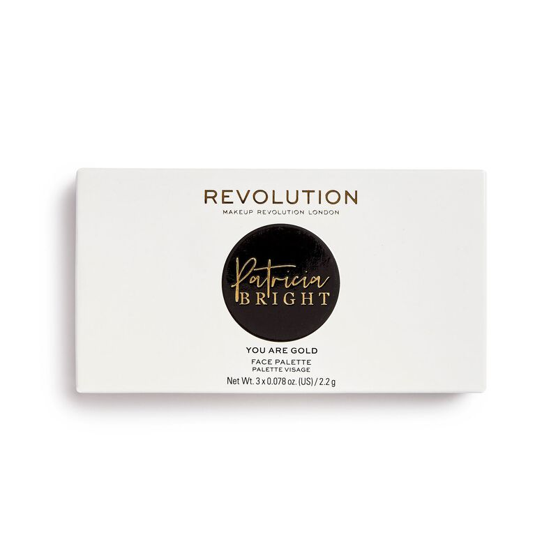 Revolution X Patricia Bright You Are Gold Face Palette
