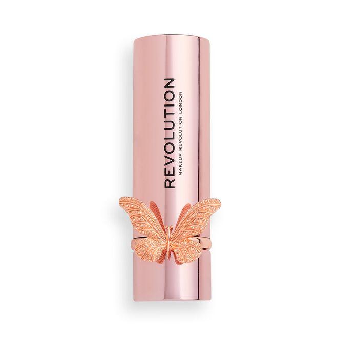Makeup Revolution Precious Glamour Butterfly Lipstick Regal