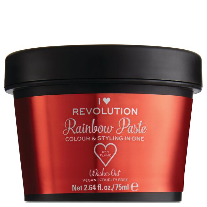 Rainbow Paste Red Flame