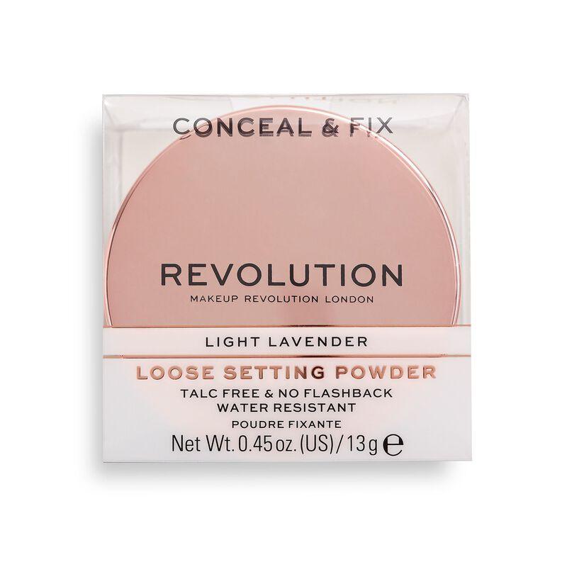 Conceal & Fix Setting Powder Light Lavender