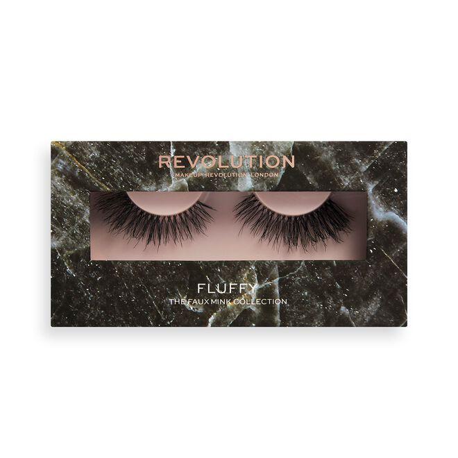 Makeup Revolution 3D Faux Mink Lashes Fluffy